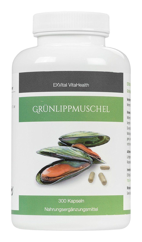 Grünlippmuschel Kapseln von EXVital VitaHealth
