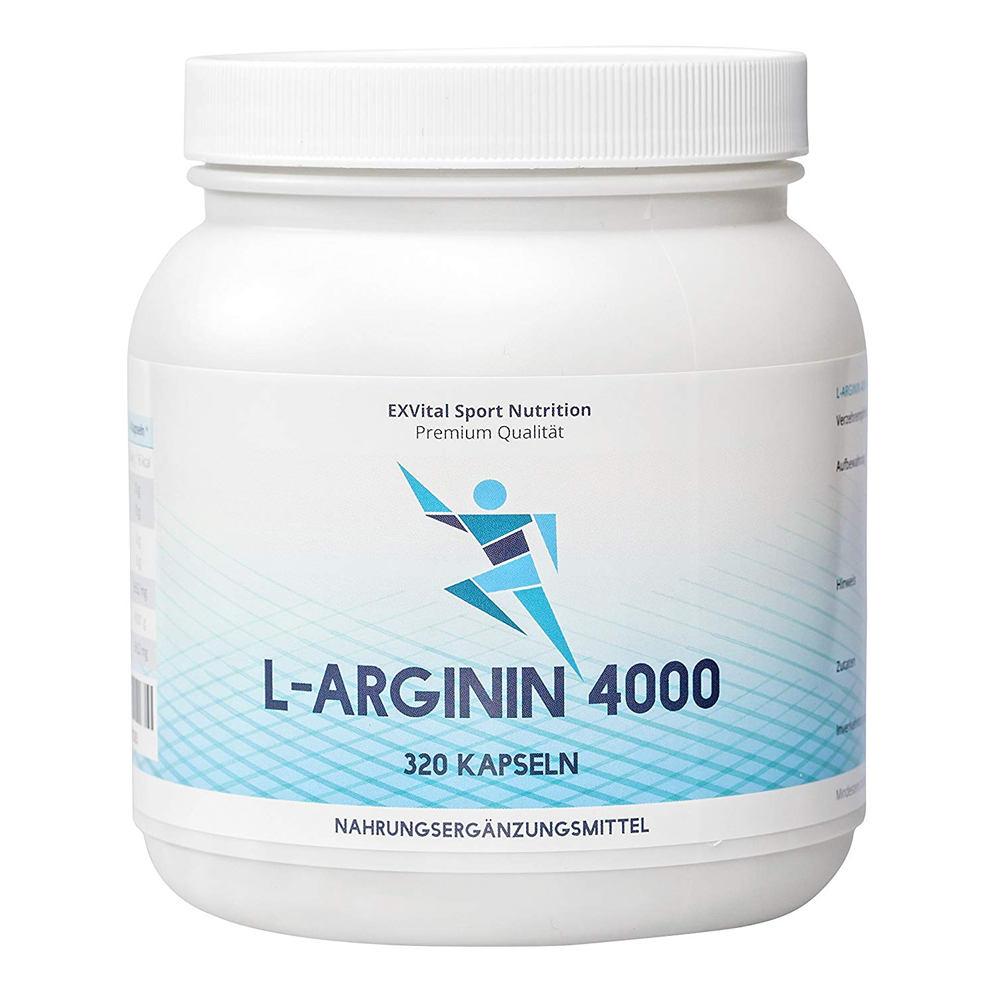 L-Arginin hochdosiert von EXVital
