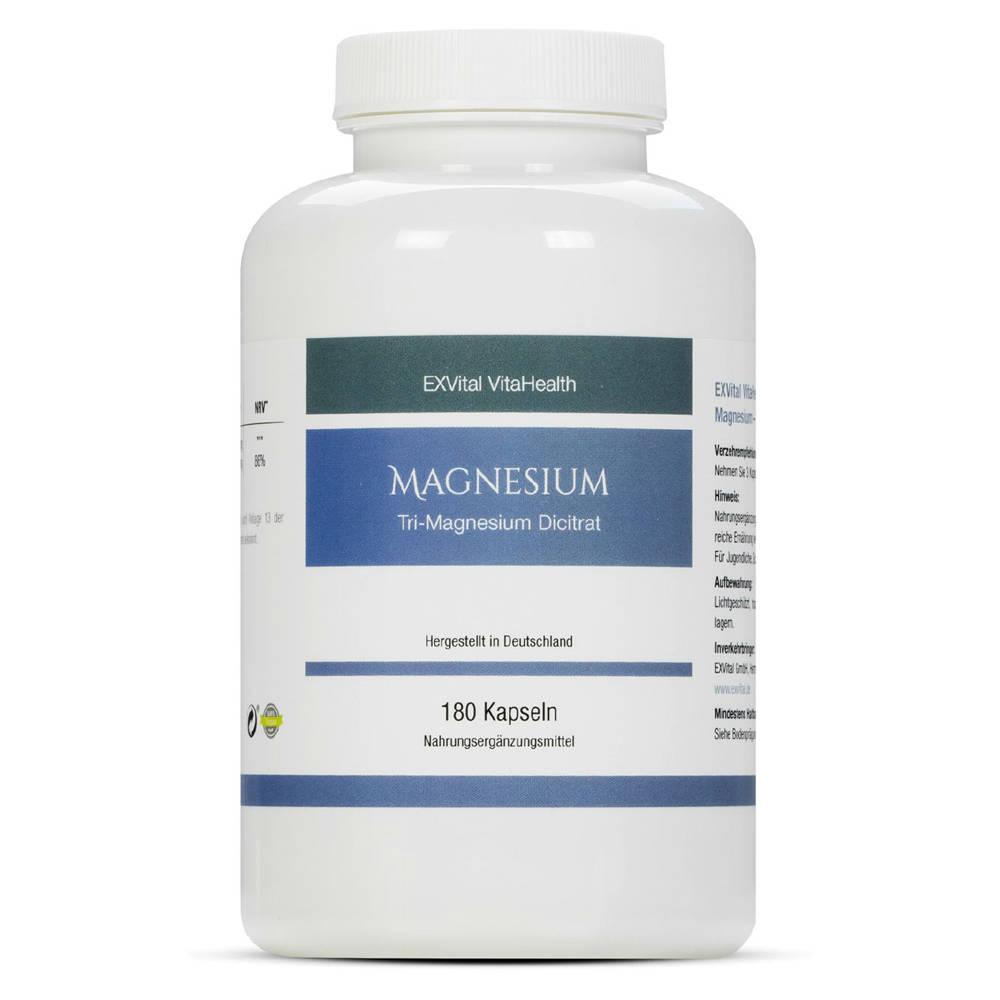 Magnesium Kapseln von EXVital VitaHealth