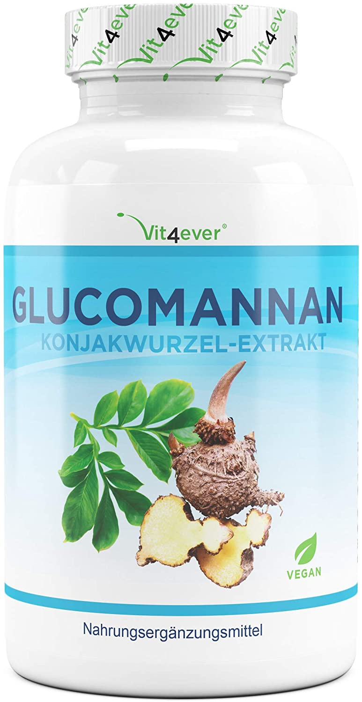 Glucomannan aus der Konjak Wurzel