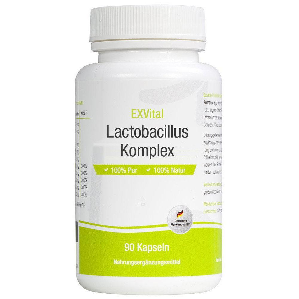 Lactobacillus Komplex 90 Kapseln von EXVital